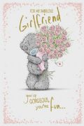 Me to You Girlfriend Tatty Teddy Birthday Card